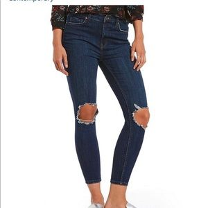 NWT Free People We The Free Busted Skinny Jean